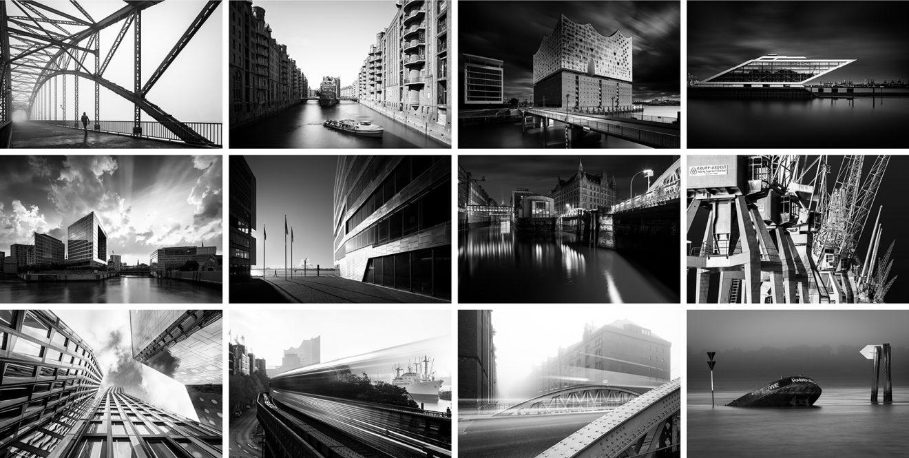 Hamburg-Classics schwarzweiß 2022 Alle Bilder