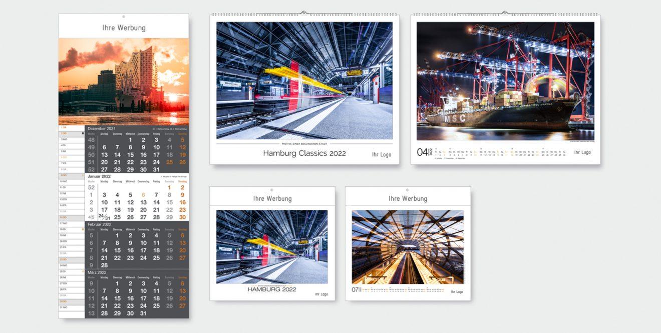 Übersicht Hamburg-Kalender Hamburger Perspektiven